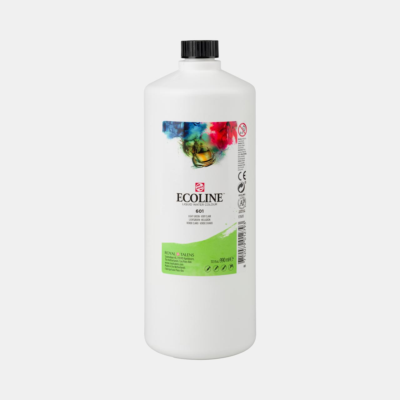Ecoline Ecoline Flüssige Wasserfarbe 990 ml hellgrün
