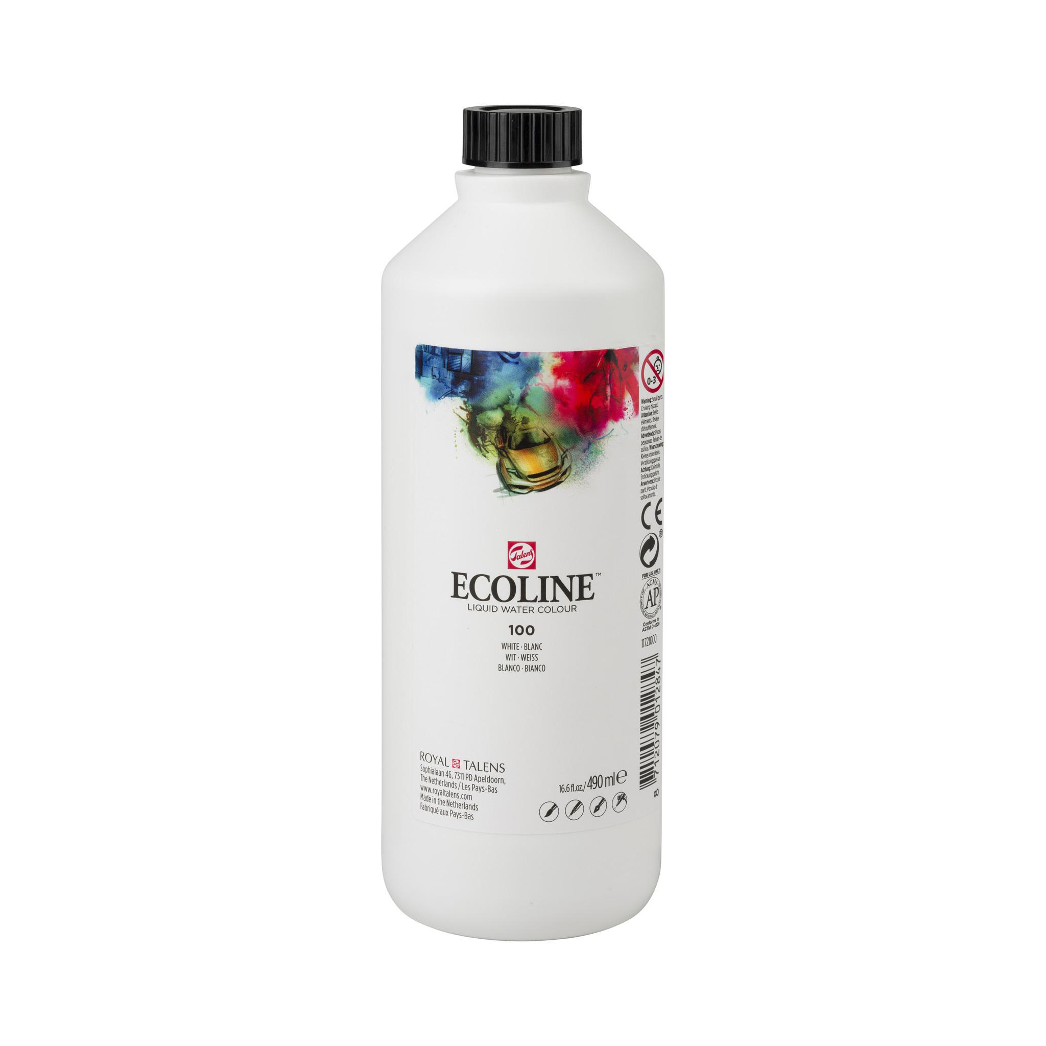 Ecoline Ecoline Flüssige Wasserfarbe 490 ml Weiß