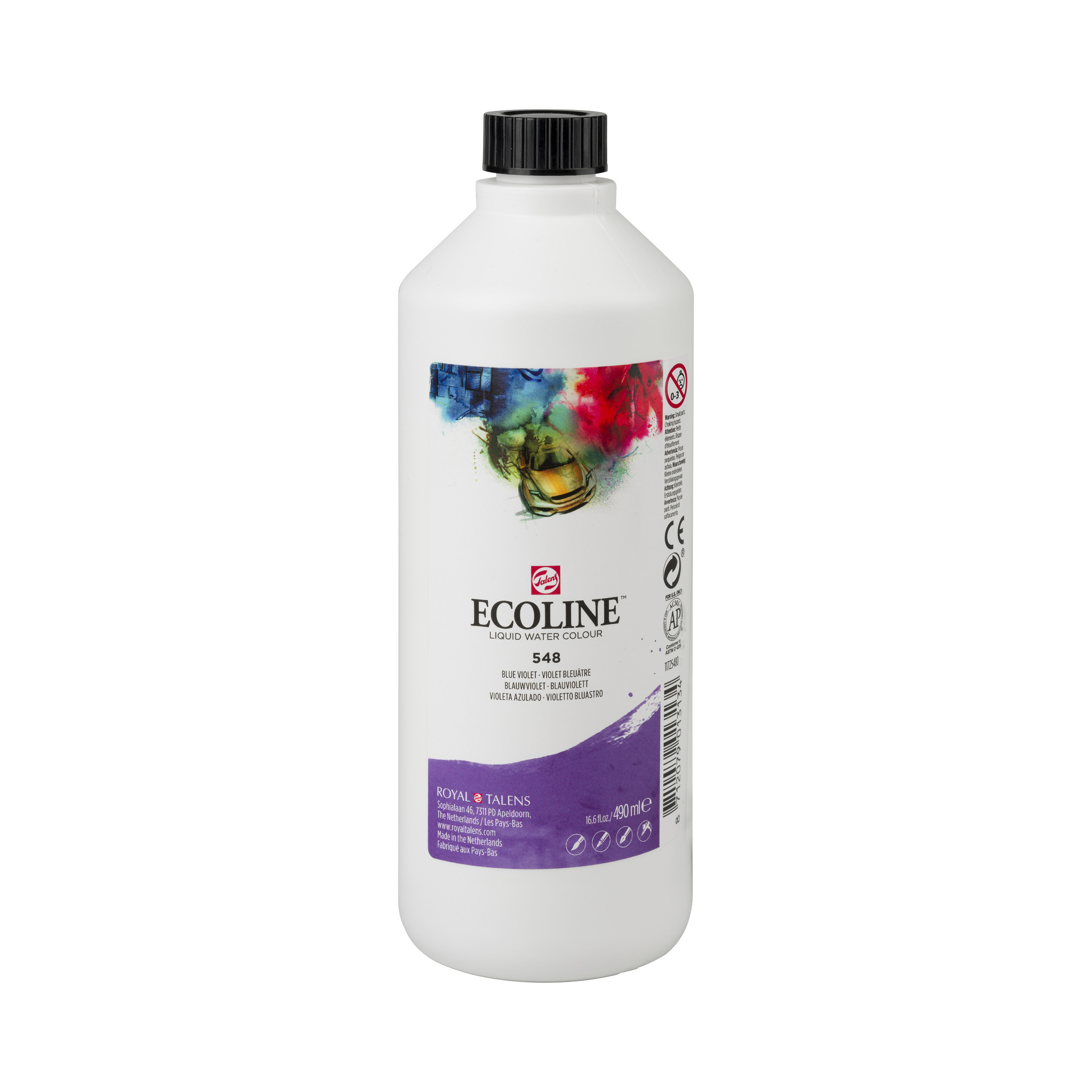Ecoline Ecoline Flüssige Wasserfarbe 490 ml Blauviolett