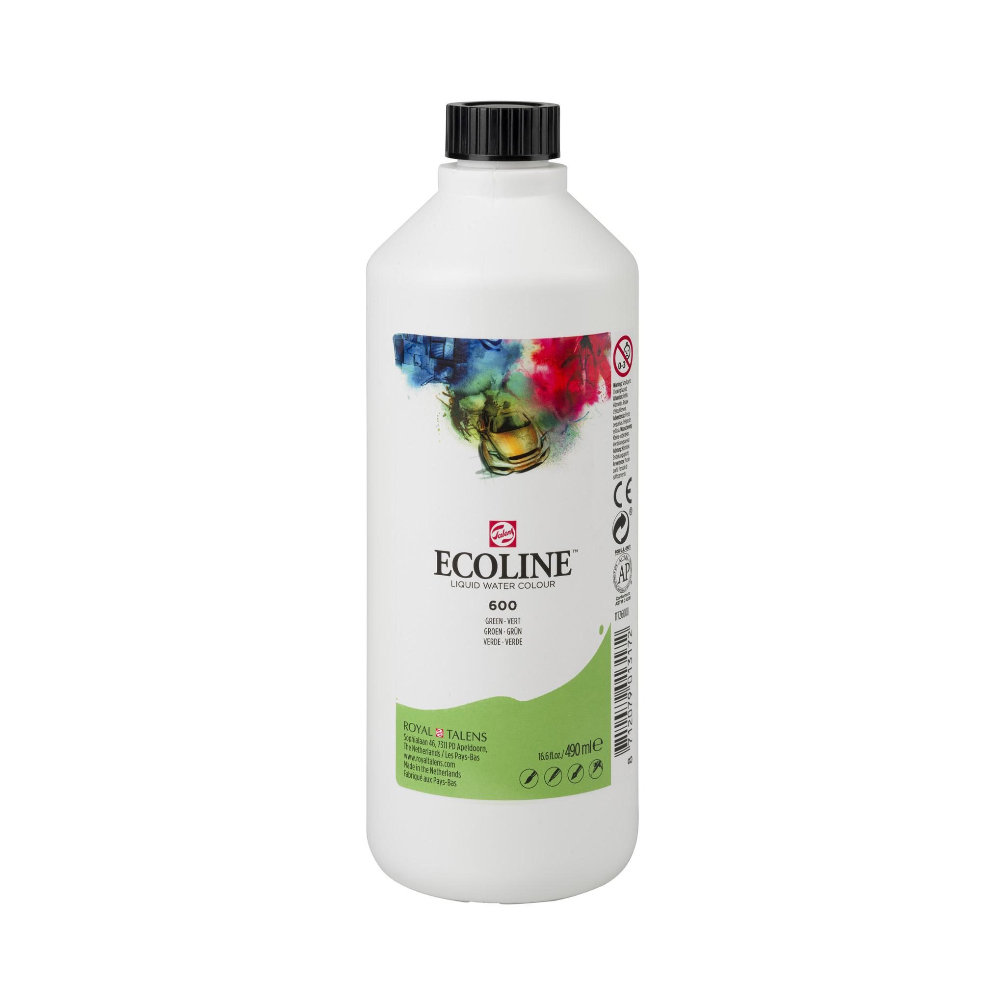 Ecoline Ecoline Flüssige Wasserfarbe 490 ml Grün