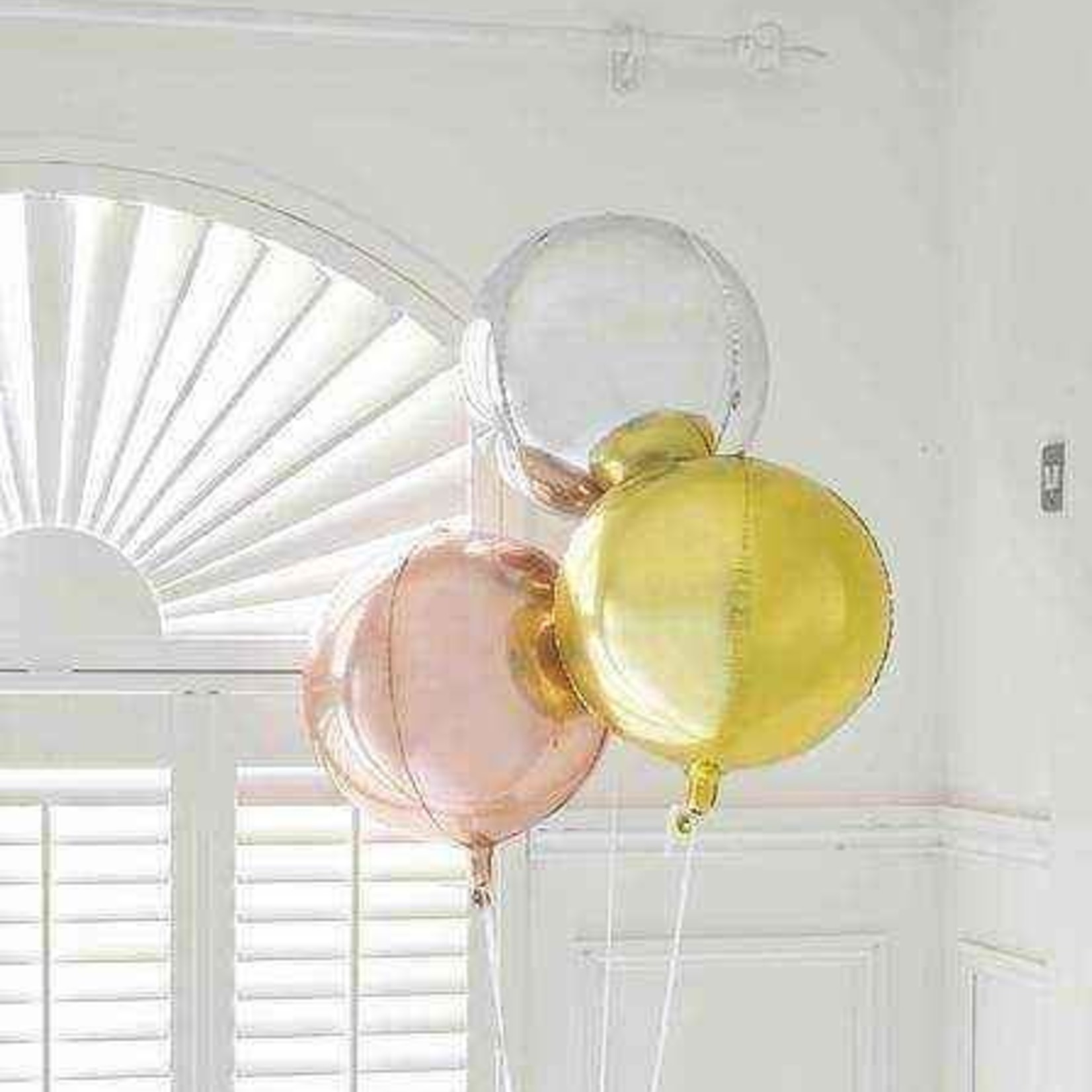 giant orb balloon rosegol