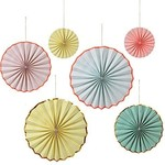 Meri Meri pastel pinwheel decoratio