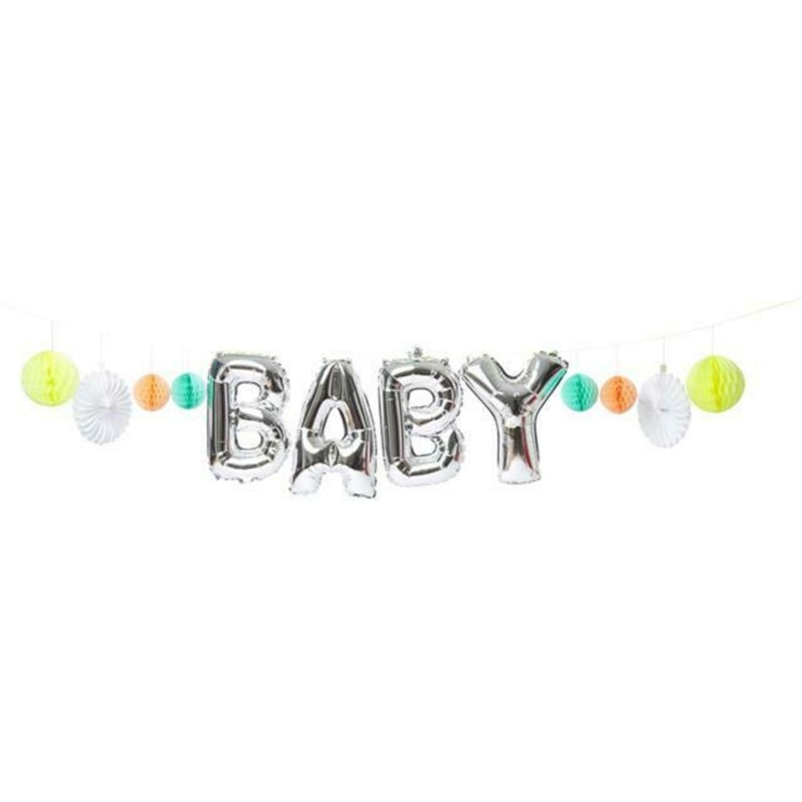 Meri Meri Baby Balloon Garland kit