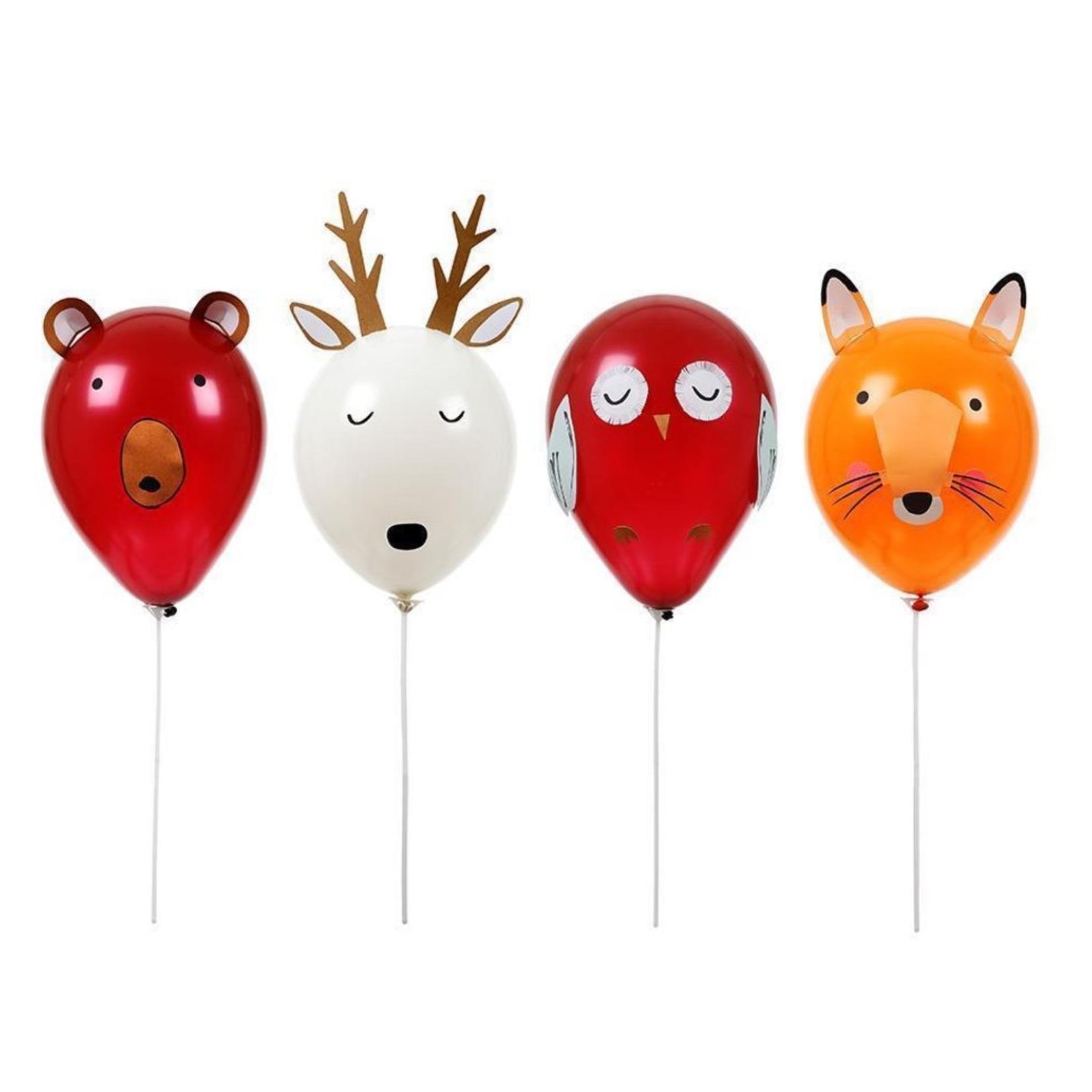 forest animal balloon kit
