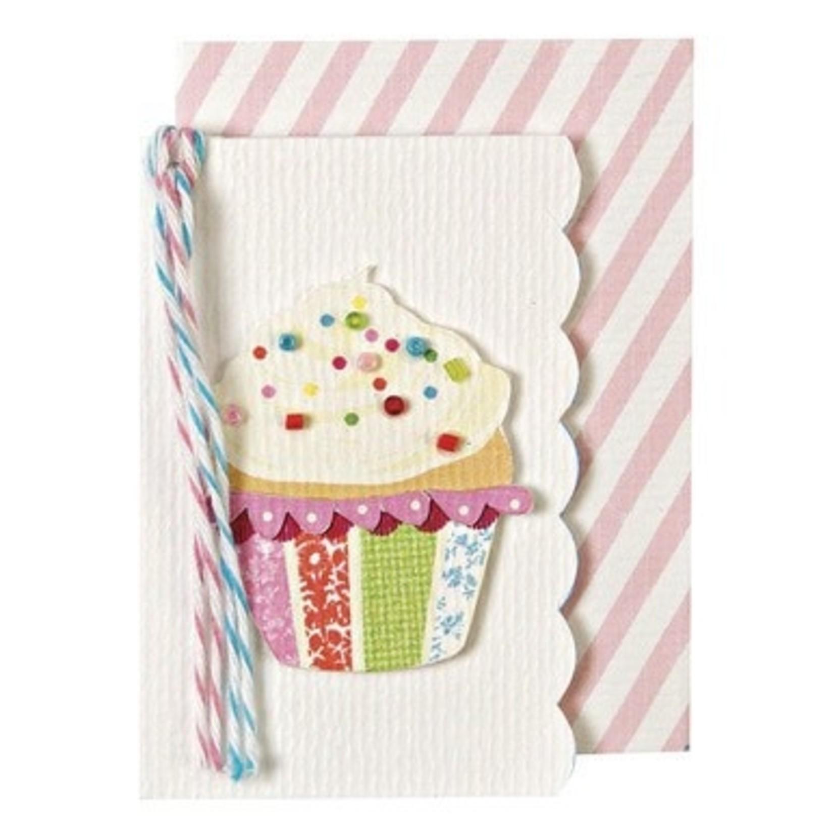 beaded cupcake