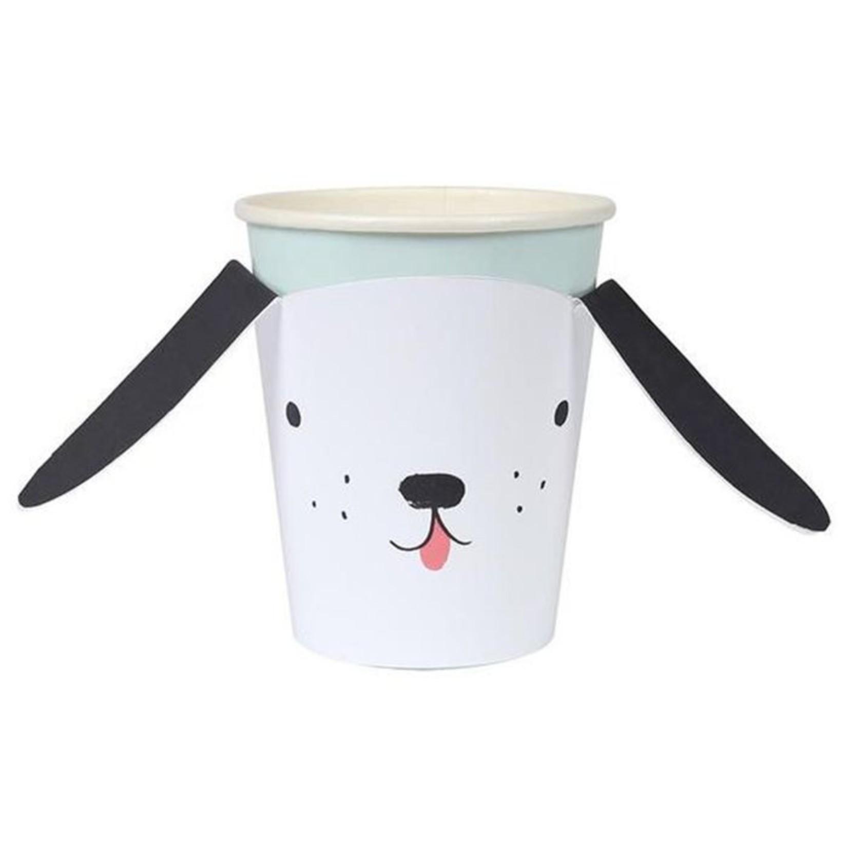 Meri Meri DOG CUP W/WRAP S/8