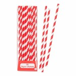 Talking Tables MIX & MATCH PAPER STRAWS RED