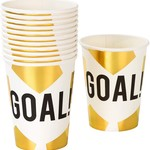 Talking Tables PARTY CHAMPIONS FOILED CUP 12P