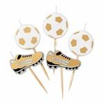 "Talking Tables Kerzen ""Fußball-Champion"""