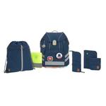 Lässig Fashion Schultaschen Set 7-teilig, Unique Navy