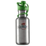 DER DIE DAS DerDieDas Trinkflasche | Edelstahl grün