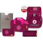 DER DIE DAS Ergoflex Schultaschenset | 5-teilig | Glitter Rose