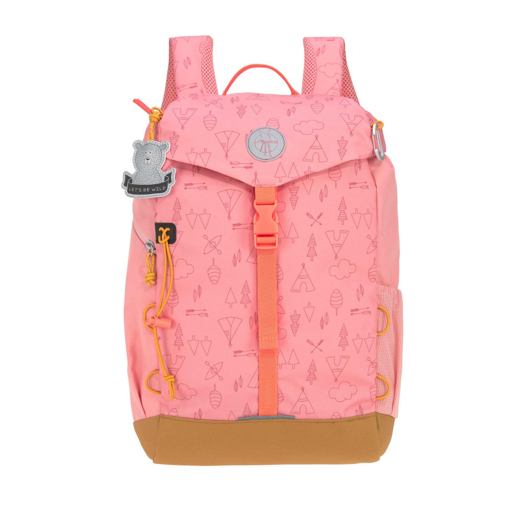 Lässig Fashion Lässig Outdoor-Kinderrucksack | 14 l | Rosa, Braun