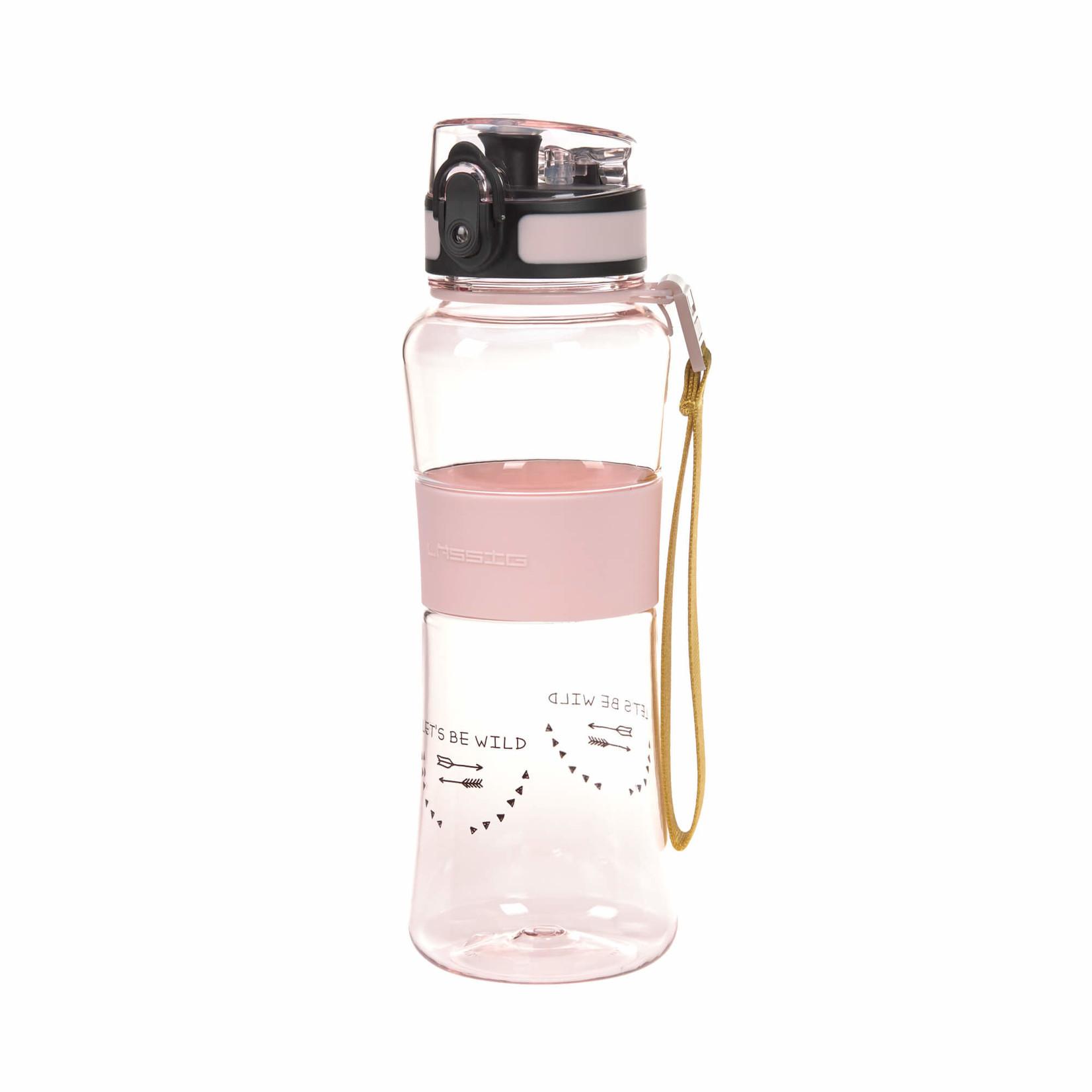 Lässig Fashion Trinkflasche rosa |550 ml