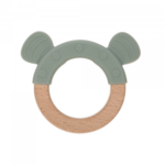 """Lässig Fashion Teether """"Ring"""" Wood/Silicone"""