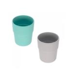 Lässig Fashion Mug Set 2 pcs Uni turquoise/gr