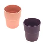 Lässig Fashion Mug Set 2 pcs Uni peach/plum