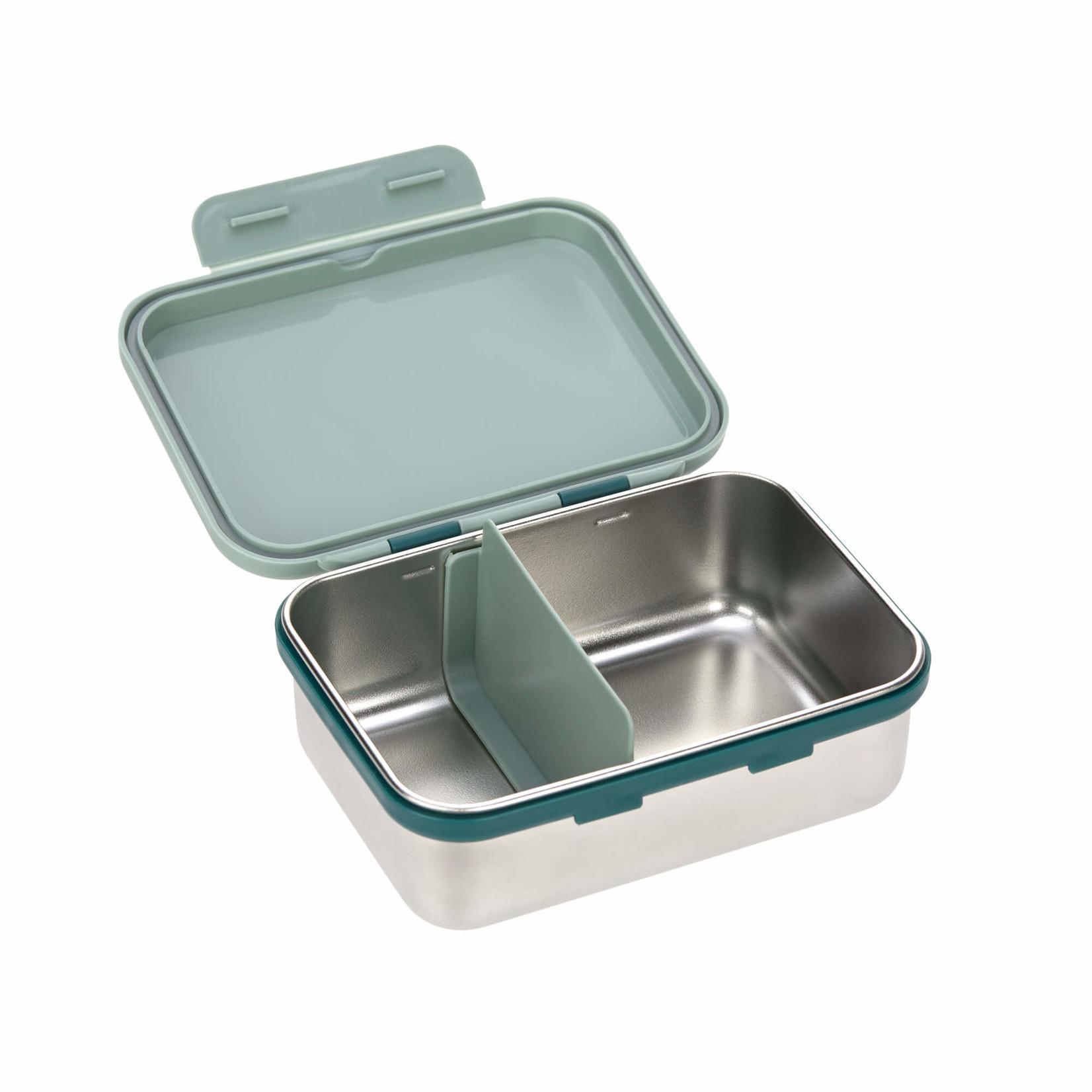 Lässig Fashion Praktische Lunchbox aus Edelstahl in blau