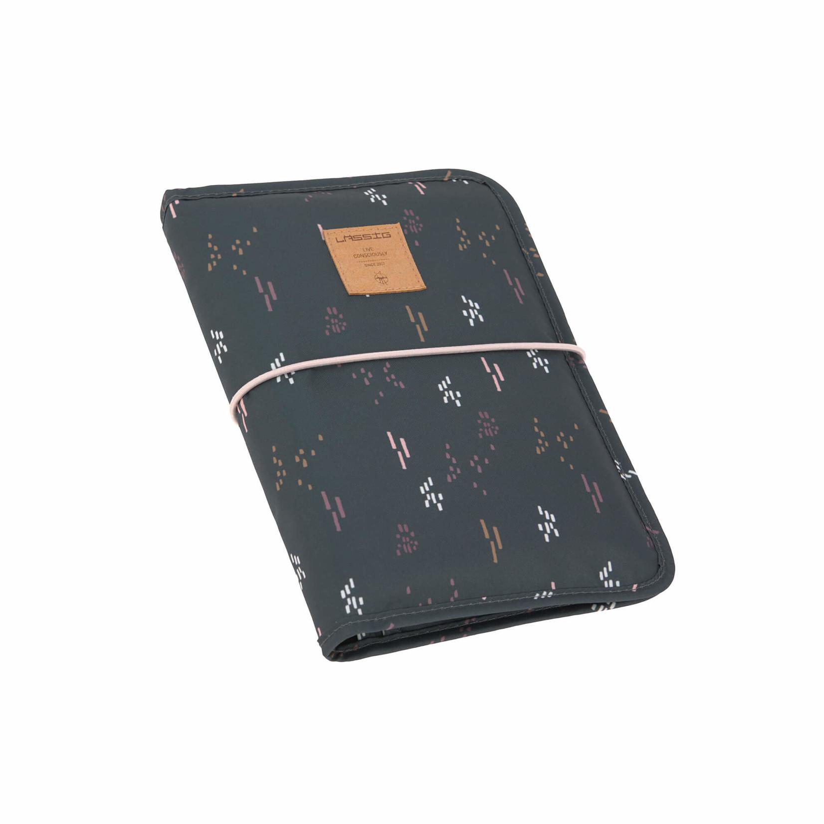 Lässig Fashion Multifunktionale Wickeltasche in grau |Polyester