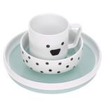 Lässig Fashion Dish Set Porcelain/Silicone Li