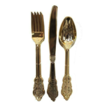Party cutlery & napkins