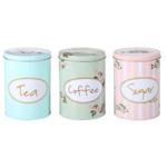 New Tea, Coffe & Sugar Caniste