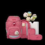 ERGOBAG pack Schulrucksack-Set Lamas