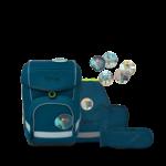 ERGOBAG cubo Schulranzen-Set RobotBär