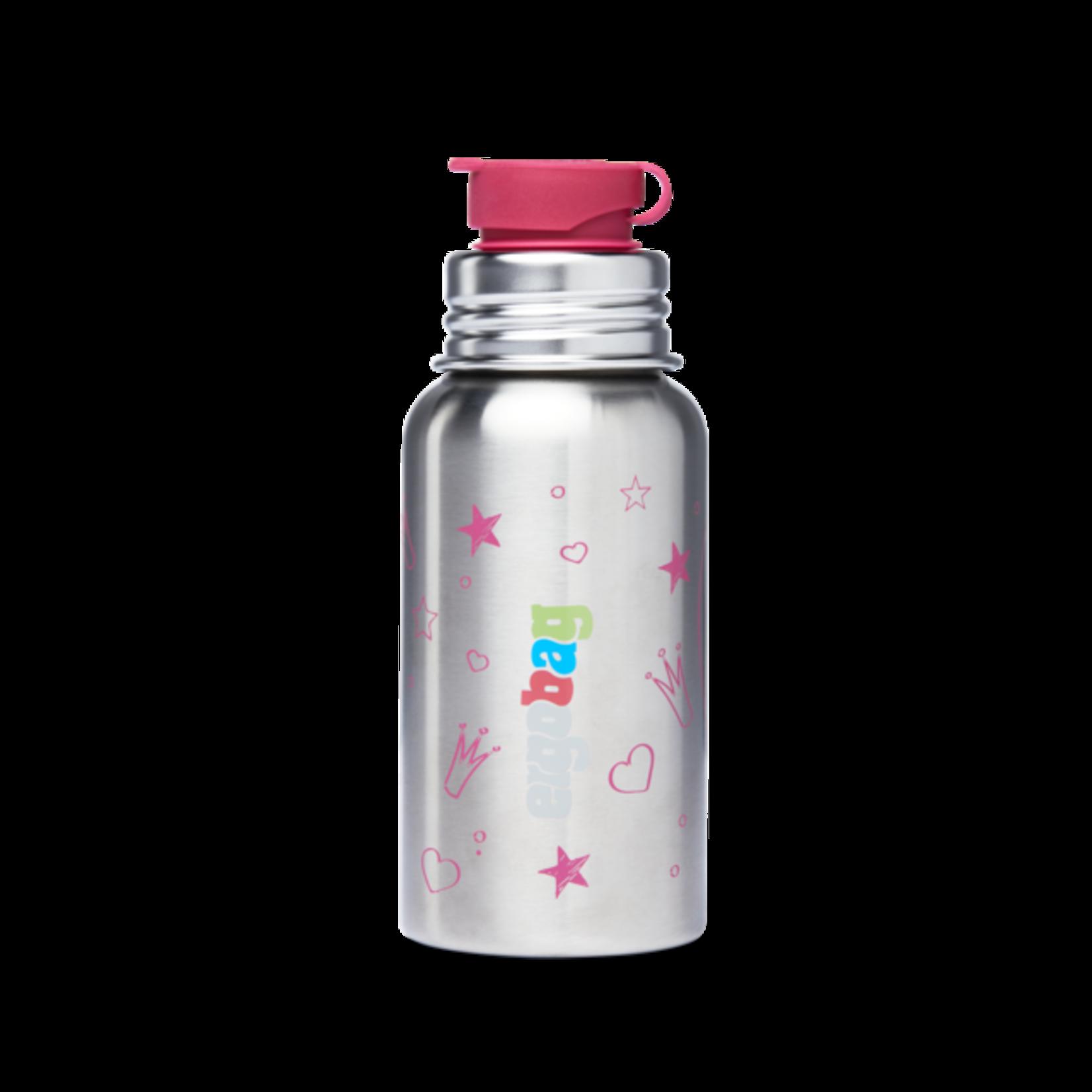 ERGOBAG Edelstahl-Trinkflasche