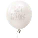"Rico Design Luftballone ""Just Married"""