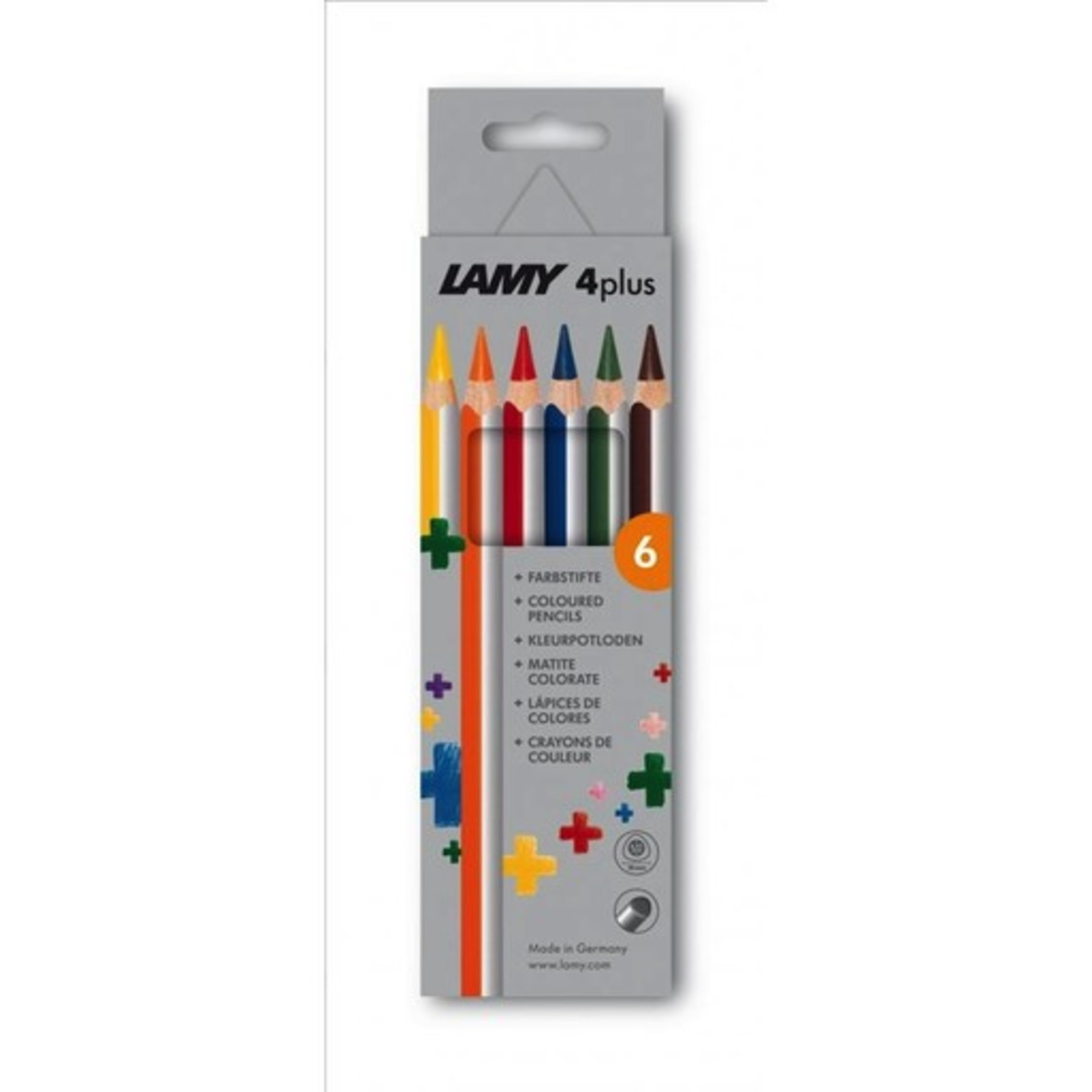 Lamy Lamy 4plus Farbstifte, Kartonbox