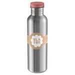 BLAFRE Edelstahl Trinkflasche 750ml - pink
