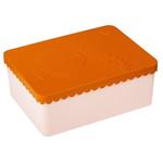 BLAFRE Brotdose Fisch - orange / hellrosa