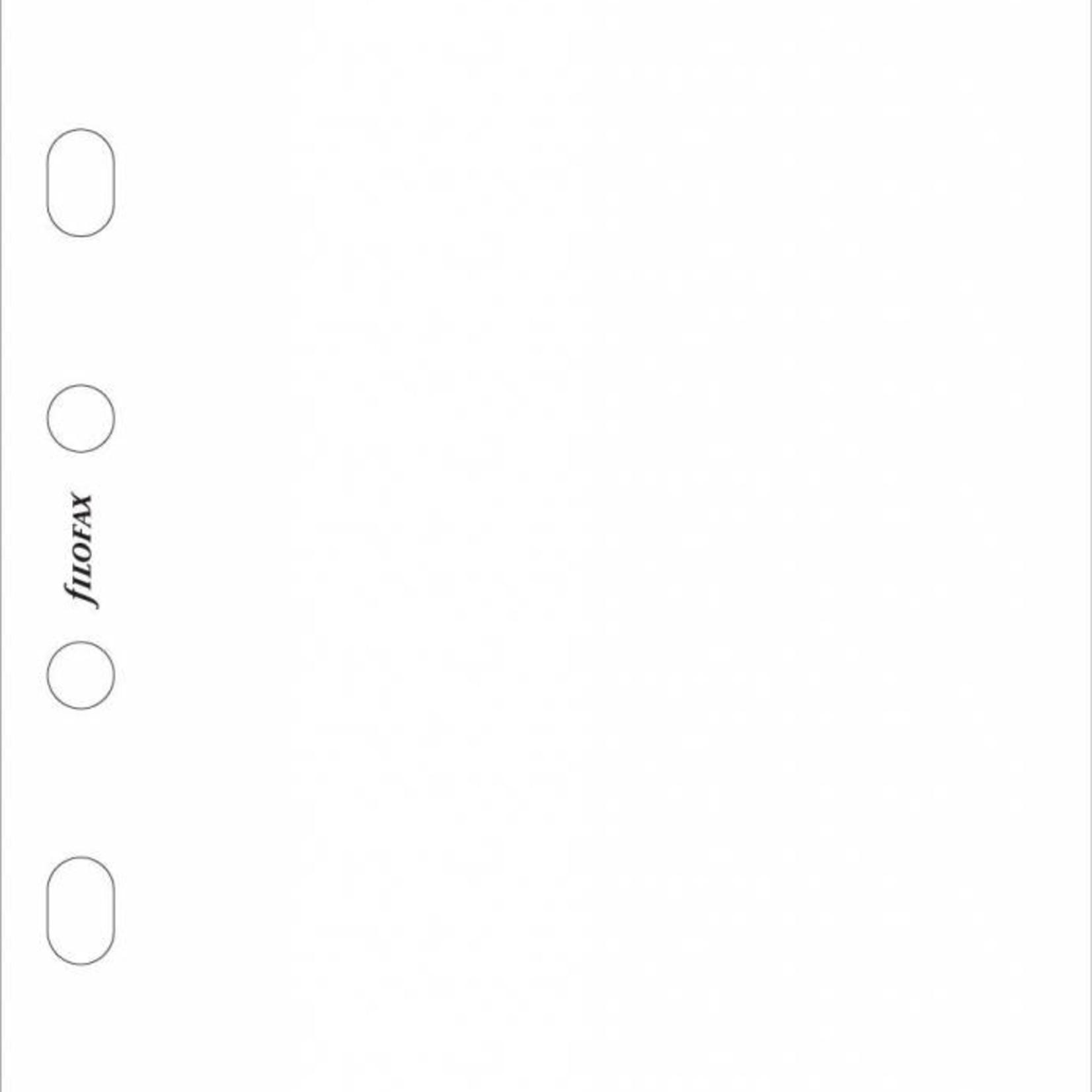Filofax Filofax Einlage Pocket, Papier blanko, weiß