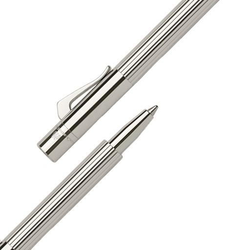 Graf von Faber-Castell Pocket Pen Taschenkugelschreiber, platiniert