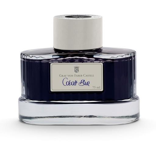 Graf von Faber-Castell Tintenglas 75 ml, cobalt blue