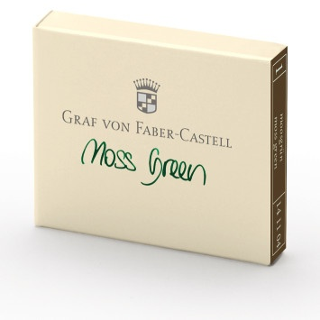 Graf von Faber-Castell Tintenpatronen 6 Stk., moss green