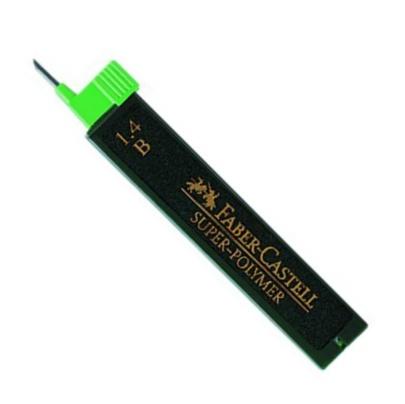 Faber-Castell Ersatzminen für Druckbleistift, 1.4 mm, Härtegrad B
