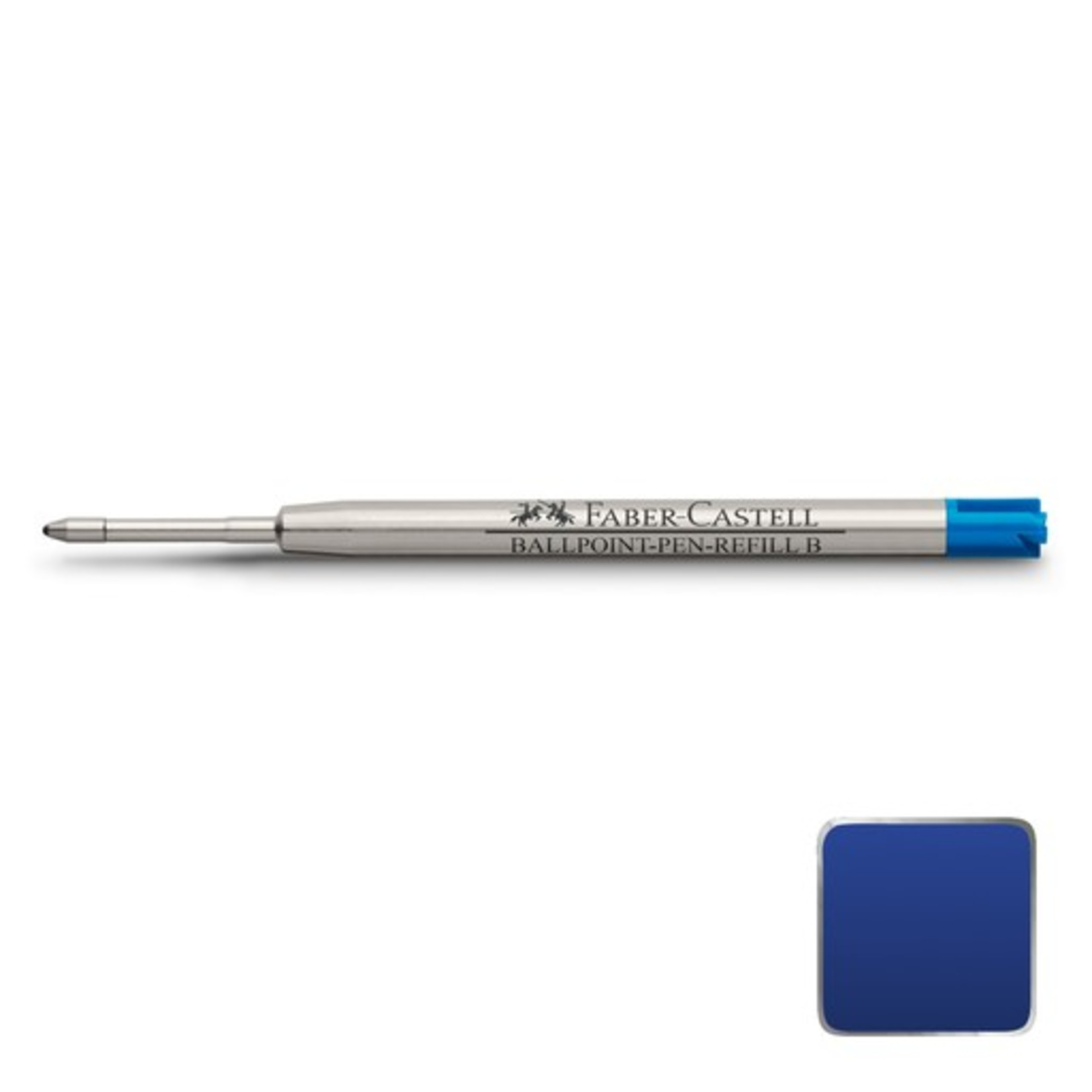 Faber-Castell Kugelschreiber-Großraummine für Faber-Castell, blau, B