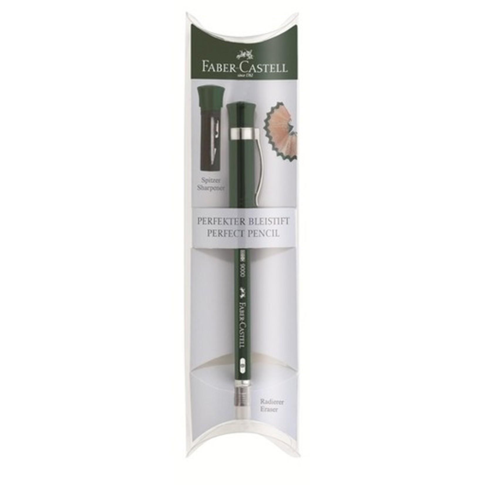 """Faber-Castell Faber Castell Perfekter Bleistift """"Castell 9000"""" Geschenketui, grün"""
