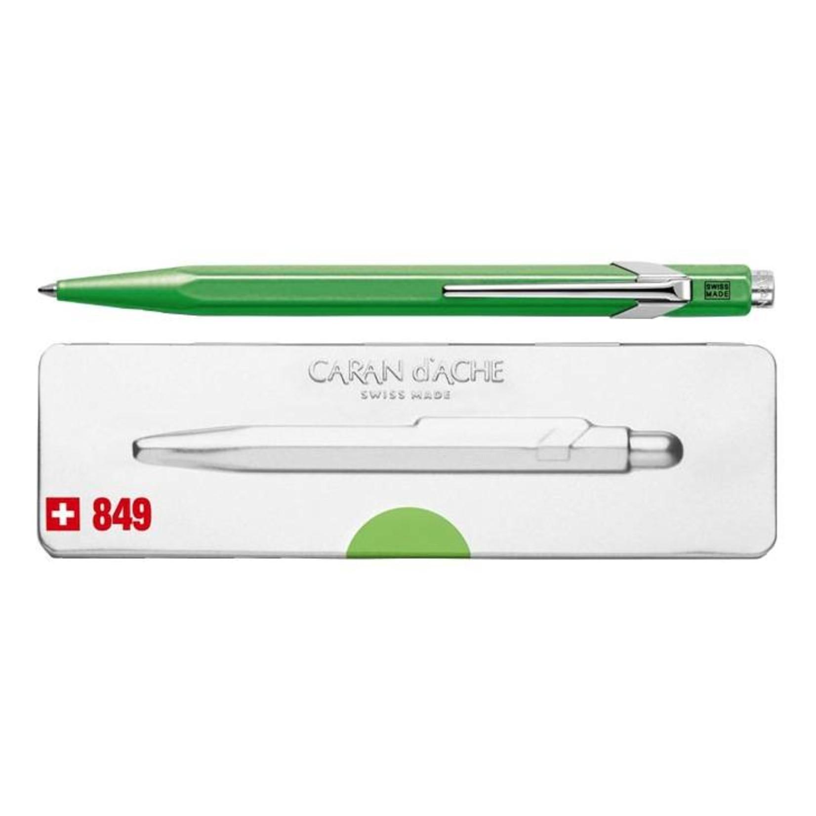 Caran d'Ache 849 Pop Line Kugelschreiber mit Etui, grün