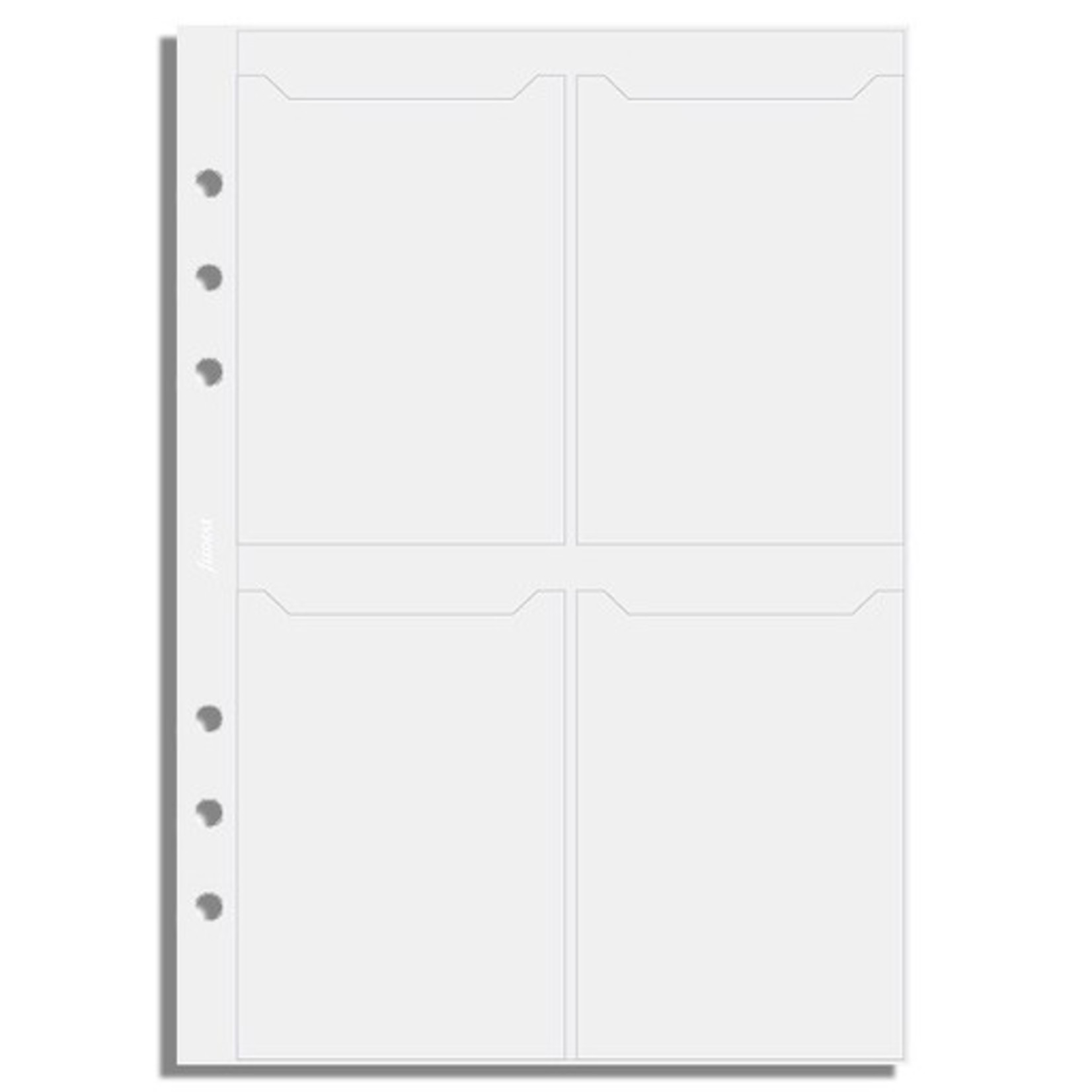 Filofax Filofax Einlage A5, Visitkartenhülle