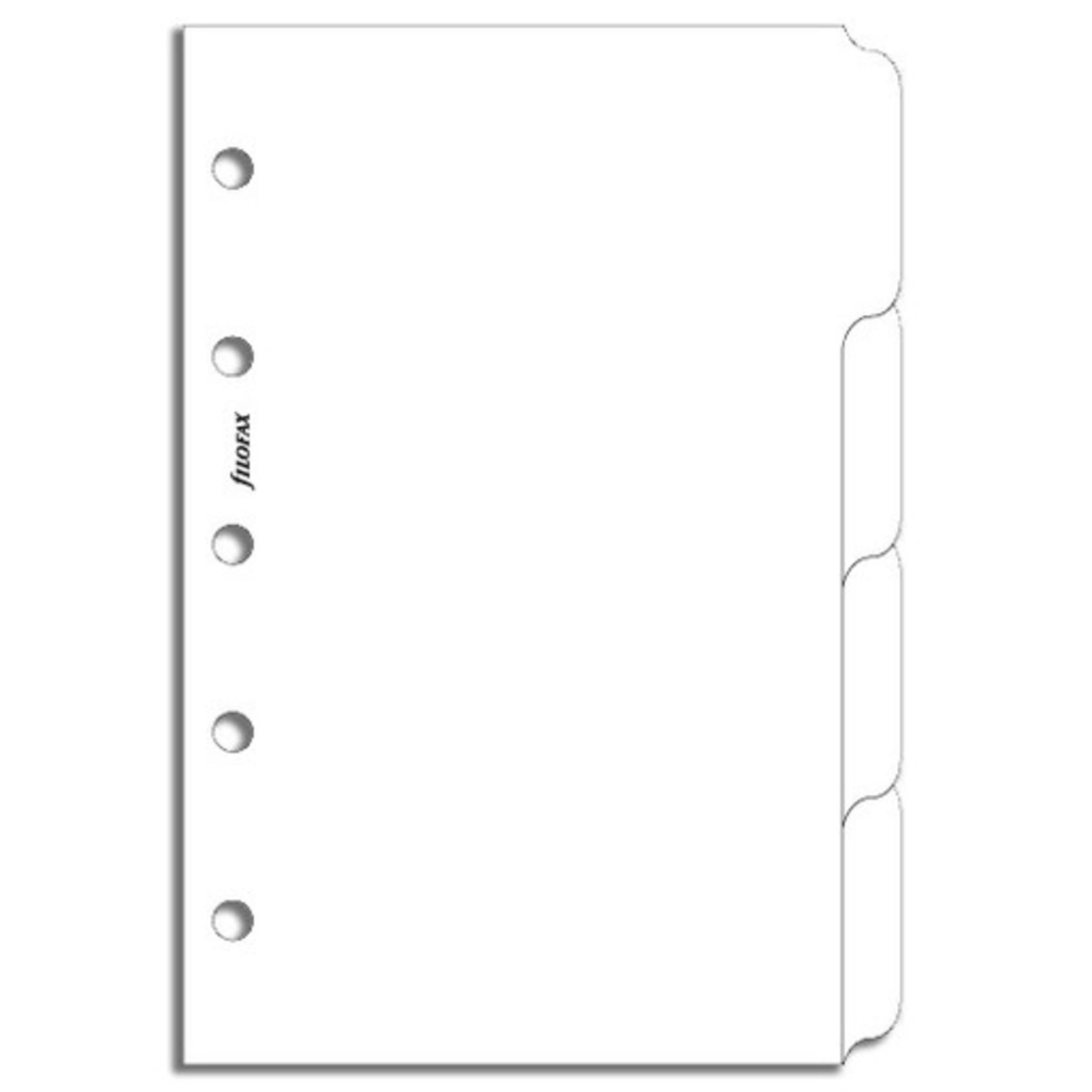 Filofax Filofax Einlage Mini, Themenregister