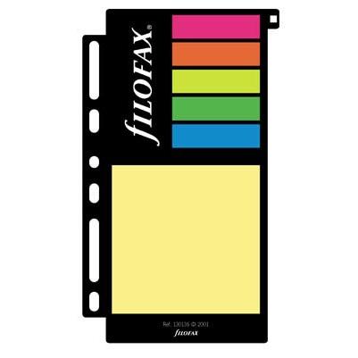 Filofax Einlage Personal, Haftnotizen, mehrfarbig