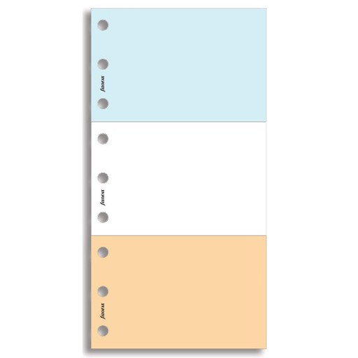 Filofax Filofax Einlage Personal, Jotpad Multinotizblock, mehrfarbig