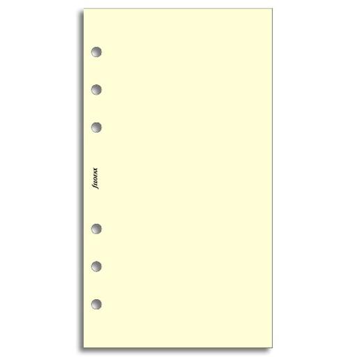 Filofax Filofax Einlage Personal, Papier blanko, 30 Bl., cotton cream