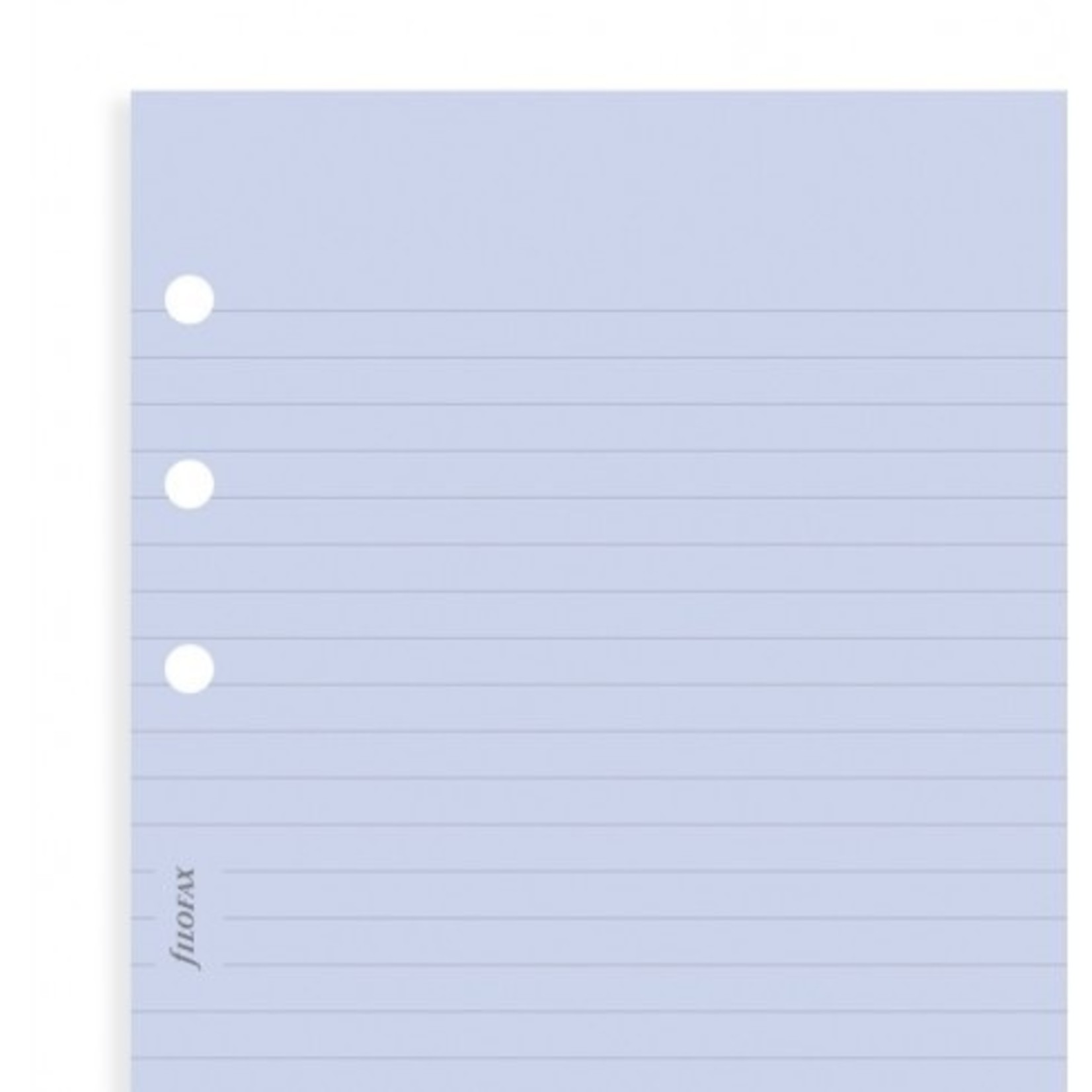 Filofax Filofax Einlage Personal, Papier liniert, blau