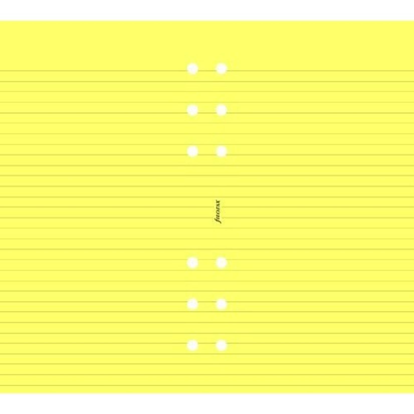 Filofax Filofax Einlage Personal, Papier liniert, gelb