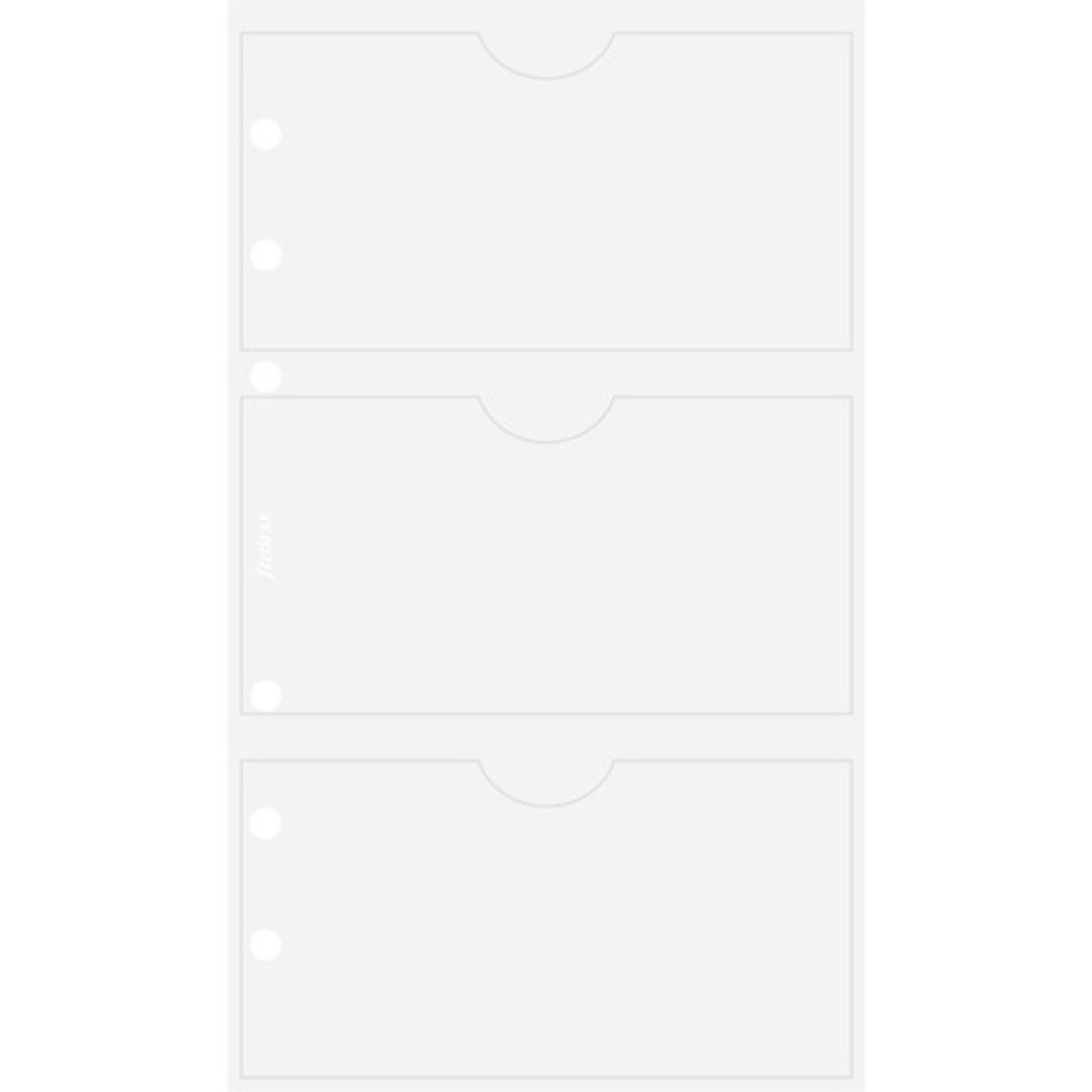 Filofax Filofax Einlage Personal, Visitkartenhülle