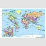 Filofax Filofax Einlage Personal, Weltkarte
